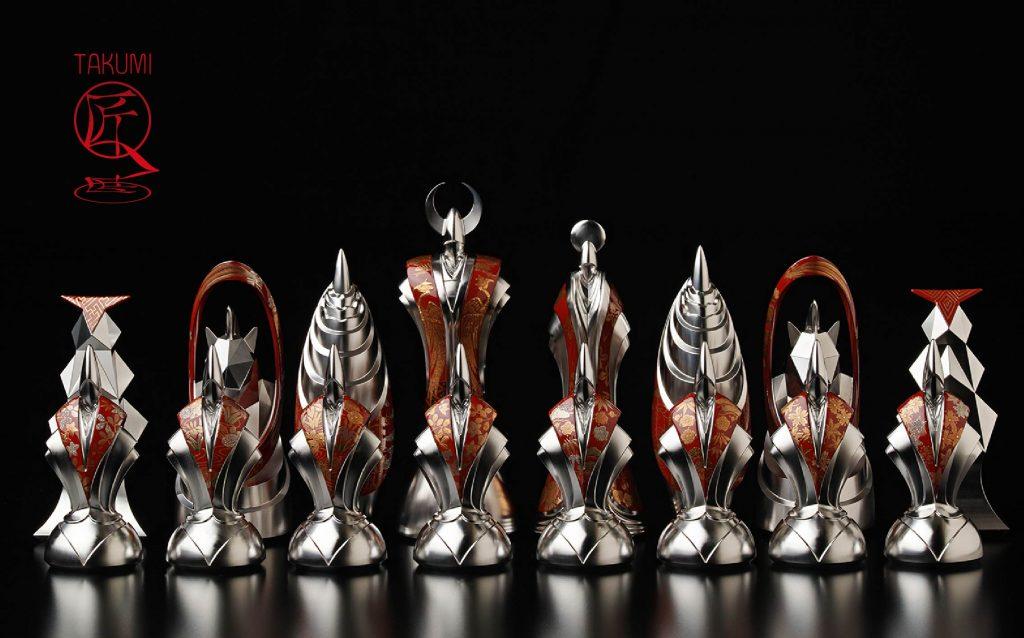 TAKUMI Chess Set Red Group